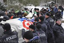 Protest Heidefriedhof 2011