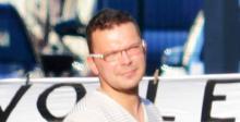 """Markus Johnke alias """"Bergwerk"""". Foto: E. Moeller."""