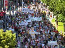 Entschlossener Protest gegen G7