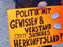 Politik mit Gewissen und Verstand-statt sicheres Herkunftsland