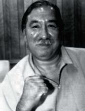 Leonard Peltier vor seiner Diabetes Erkrankung 2004