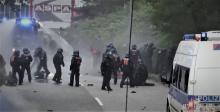 Rondenbarg Polizeigewalt: Ausschnitt aus Polizeivideo vom 7.7.2017