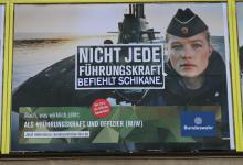 Adbusting gegen Bundeswehr-Werbung