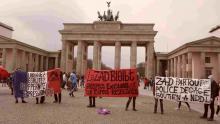 Solifoto für La Zad vor dem Brandenburger Tor