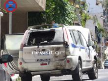 OPKE Jeep in Exarchia