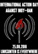 Actionday against Indy-ban 2018