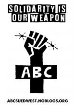 Solidarity is our weapon. ABC