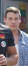 Bastian Hans auf Nazidemonstration am 18.08.18 in Köln II