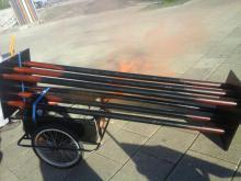 Rauchendes Brennelement