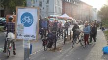 Fahrradstraße und Straßenfest statt Autoterror