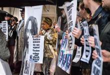 Kundgebung vor der Staatsanwaltschaft von Philadelphia