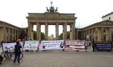 Free Mumia rally, Berlin, April 27, 2019