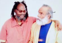 Mumia Abu-Jamal und Joseph Harris, 27. Mai 2019, SCI Mahanoy Gefängnis