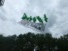 NoAmazon, Luftballon-Transparent
