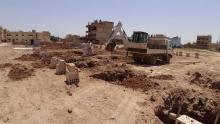 Baubeginn in Qamislo