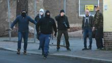 Im Januar 2018 veruschten Neonazis in Wurzen eine antifaschistische Kundgebung anzugreifen