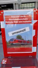 Bahn wird kostenlos Anzeigebild