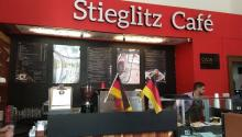 Das Stieglitz Café in Puebla verkauft eine erfrischende Soda Mussolini