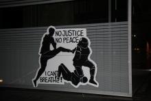 No justice no peace!