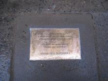 Gedenktafel für Maria B.