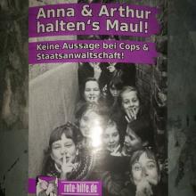 Anna und Arthur halten's Maul