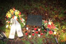 Gedenkstein für Eckhardt Rütz