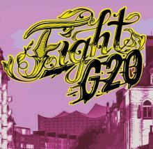 Fight G20 - Hinein in den revolutionären Block am Donnerstag Abend