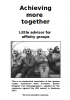 Achieving more together / Bezugsgruppenreader