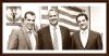 Plevris, Voridis und Georgiadis vor Junta Plakat