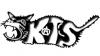 Katzenlogo des Autonomen Zentrums KTS Freiburg
